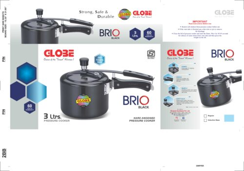 BRIO BLACK 3Ltr. scaled e1602432355695 | Globe Kitchenware