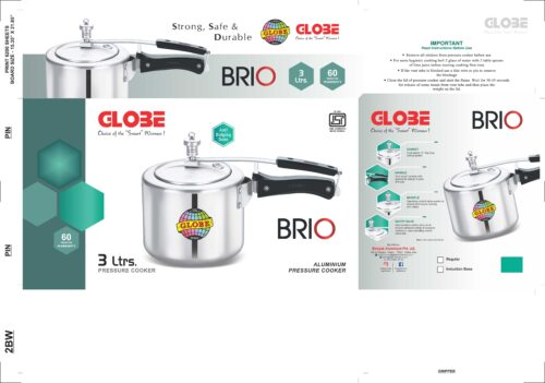 BRIO WHITE 3Ltr. scaled | Globe Kitchenware
