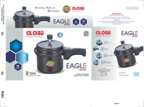 EAGLE BLACK 2Ltr. scaled | Globe Kitchenware