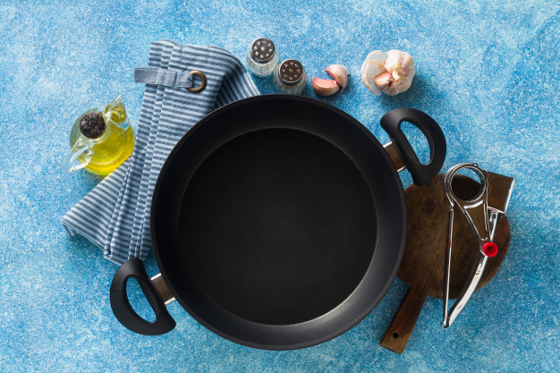 non stick frying pan table cooking food 230432 136 1 | Globe Kitchenware