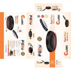 13C FAST PAN 200 MM 1 | Globe Kitchenware