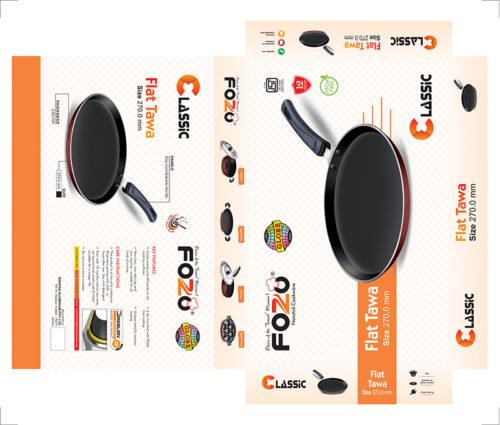 17C FLAT TAWA 270 MM 2 | Globe Kitchenware