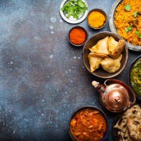 124098149 authentic indian dishes and snacks | Globe Kitchenware